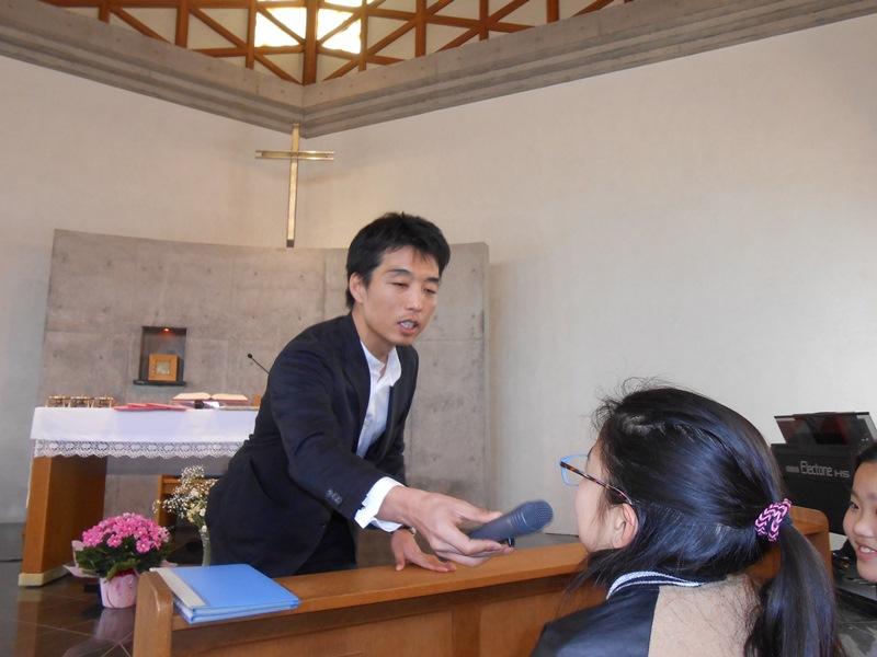 教会学校卒業式