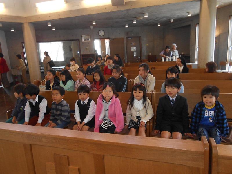 教会学校入学式