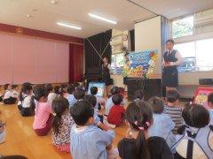 交通安全教室と消防訓練