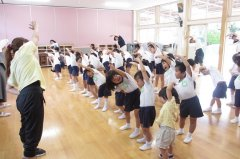 ✩運動会の練習、みんなで体操✩