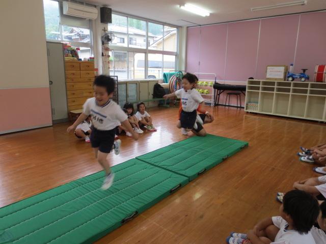 6月の体操指導①