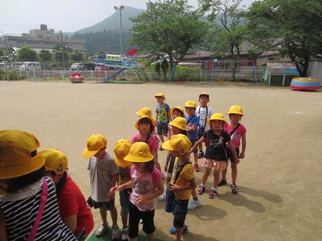 ☆猪調小学校の1年生ようこそ!幼稚園へ!!☆
