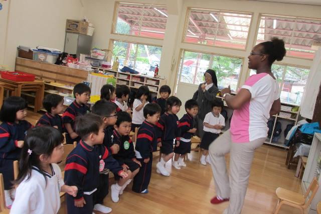 初めての英語教室・体操教室♪