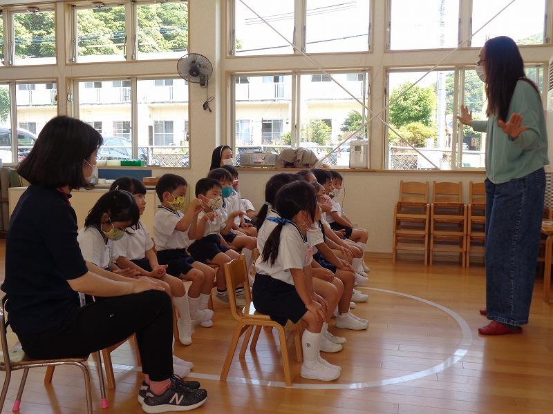 初めての英語教室(*^▽^*)聖母祭❀