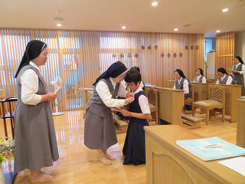修学志願生受入れ式