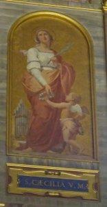 聖女セシリアと修道会創立者の命日
