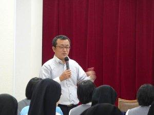 カンボジアでの体験報告会