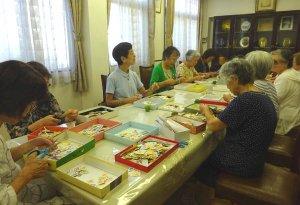 イエスのカリタス友の会使用済み切手の整理の日