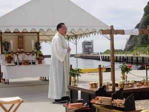 8回目の東日本大震災物故者合同祈祷会
