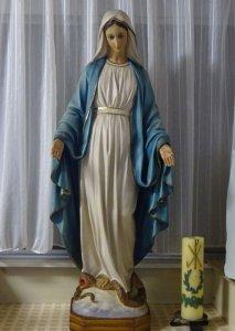 無原罪の聖マリアの祝日まであと3日です