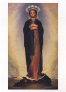 無原罪の聖マリアのお祝いまであと4日です