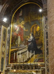 ヴァチカン聖ペトロ大聖堂の聖女マルガリタマリアアラコック