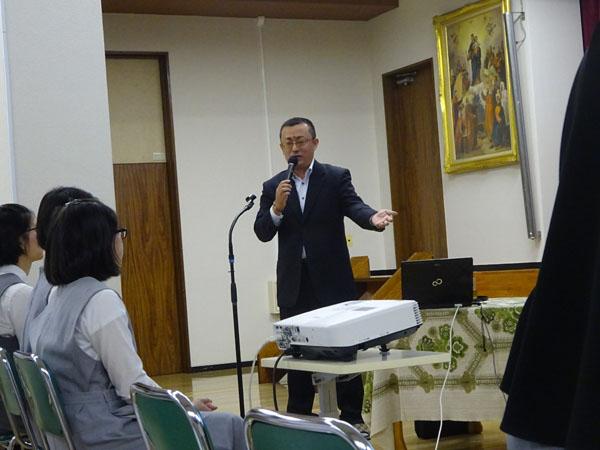 日本カトリック信徒宣教者会 報告会